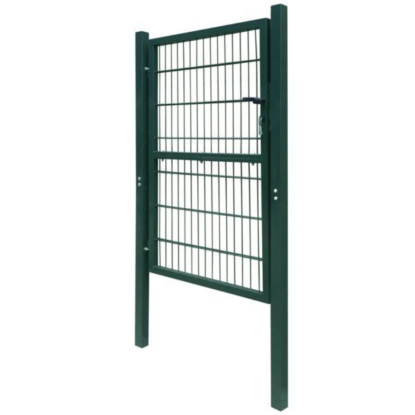 2D Zauntor (Einzeltor) grün 106 x 230 cm