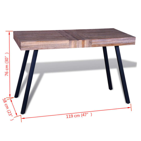 Tisch Altholz Teak