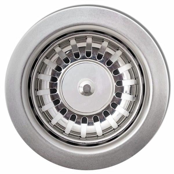 Granitspüle mit Abtropffläche Reversibel Grau