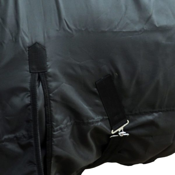 Fleecedecke Pferdedecke doppelschichtig 165 cm Schwarz