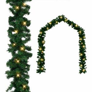 Weihnachtsgirlande mit LED-Lichtern 10 m