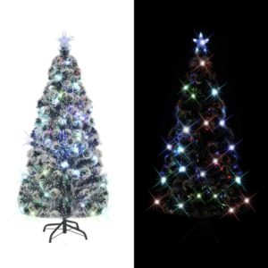 Künstlicher Weihnachtsbaum mit Ständer/LED 210 cm 280 Zweige
