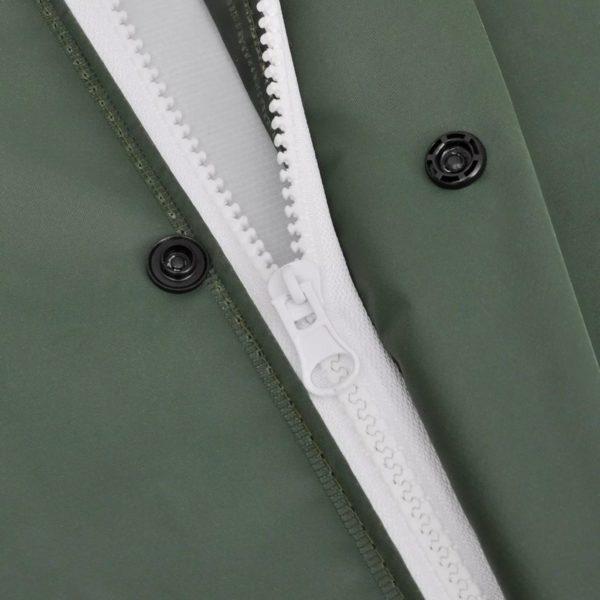2-tlg. Regenanzug mit Kapuze wasserdicht hochbelastbar grün XXL