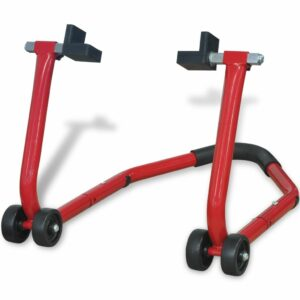 Paddock-Motorradständer Hinten Rot