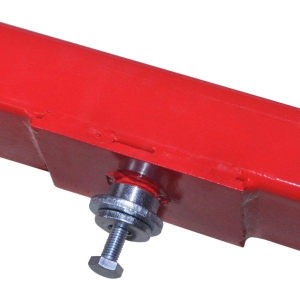 Querträger für Wagenheber 2 Tonnen Rot