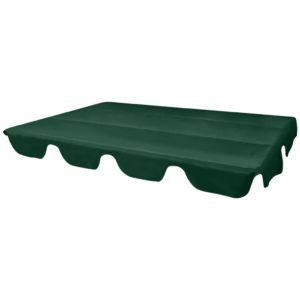 Ersatzdach für Gartenschaukel Grün 226×186 cm