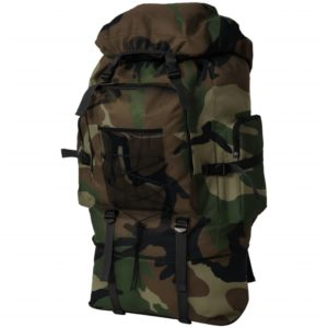 Armee-Style Rucksack XXL 100 L Camouflage