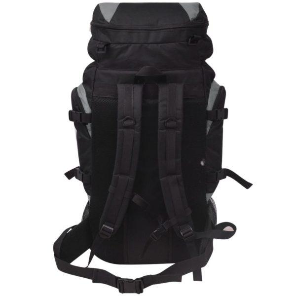 Wanderrucksack XXL 75 L schwarz und grau