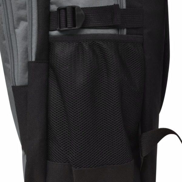 Schulrucksack 40 L Schwarz und Grau