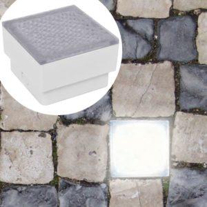 LED Bodeneinbauleuchten 6 stk 100x100x68 mm