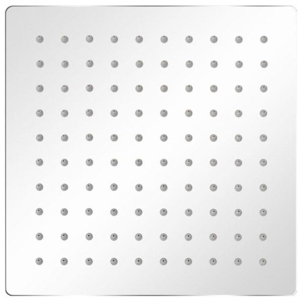Regenduschkopf Edelstahl 20×20 cm Quadratisch