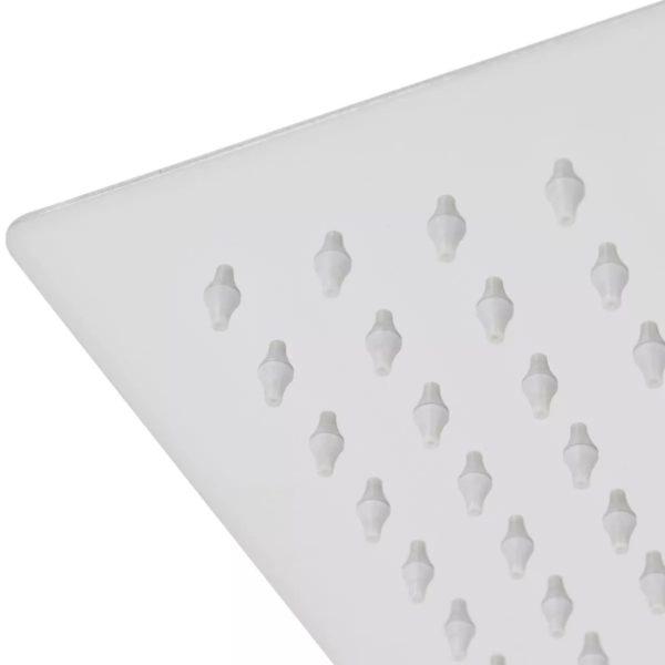 Regenduschkopf Edelstahl 25×25 cm Quadratisch