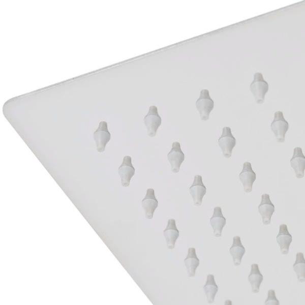 Regenduschkopf Edelstahl 30×30 cm Quadratisch