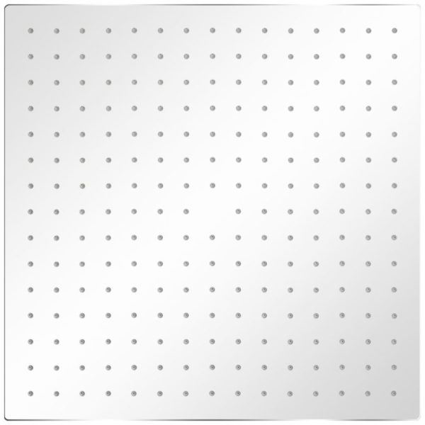 Regenduschkopf Edelstahl 40×40 cm Quadratisch