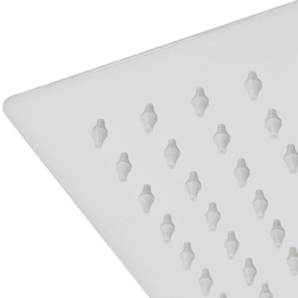 Regenduschkopf Edelstahl 20×30 cm Rechteckig