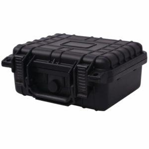 Universalkoffer 27×24,6×12,4 cm Schwarz