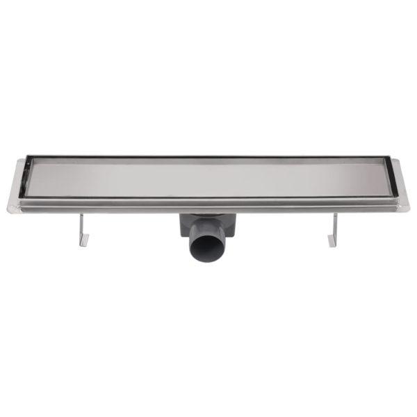Duschablauf Linear 530×140 mm Edelstahl