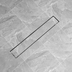 Duschablauf Linear 730×140 mm Edelstahl