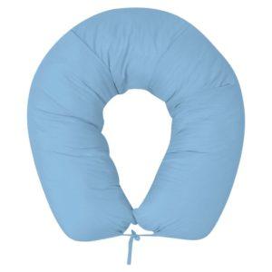 Schwangerschaftskissen 40×170 cm Hellblau