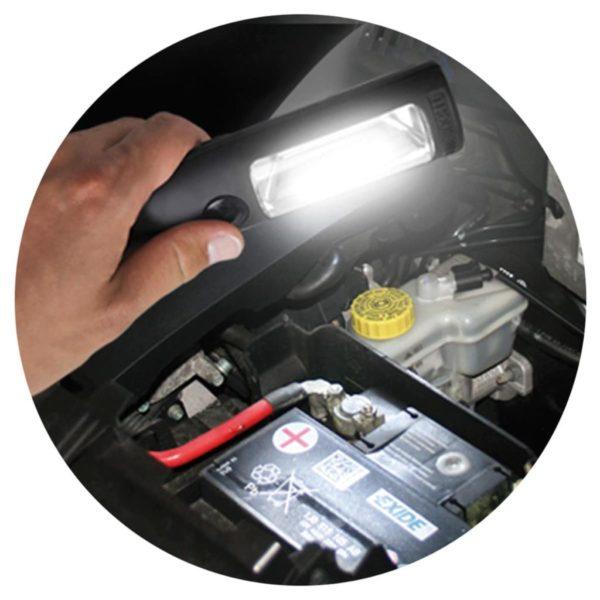 ProPlus Inspektionslampe COB LED mit Akku 440054