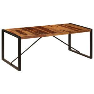 Esstisch 200 x 100 x 75 cm Massivholz