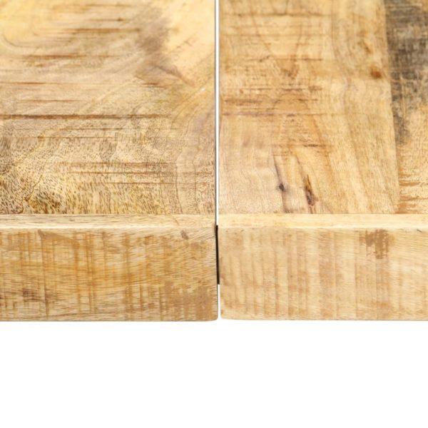 Esstisch 160 x 80 x 75 cm Mangoholz Massiv