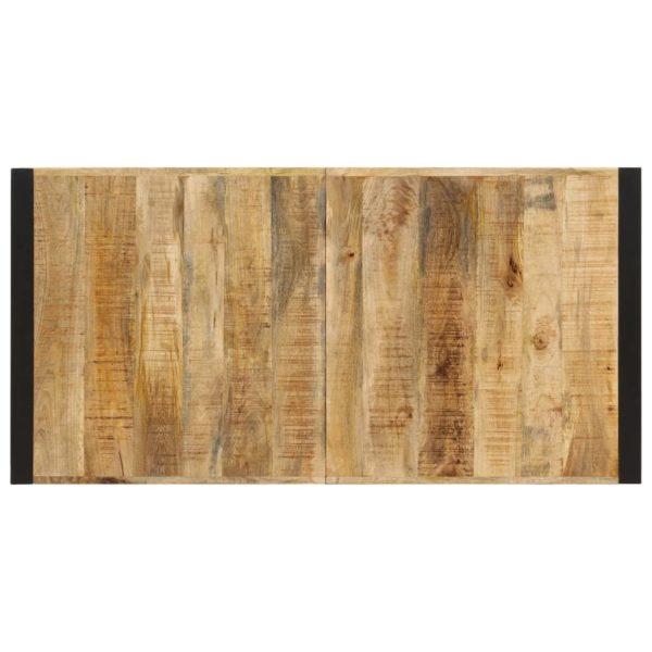 Esstisch 140 x 70 x 75 cm Mango-Massivholz