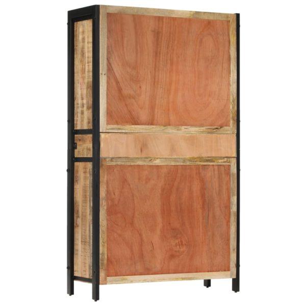 Highboard 100×40×175 cm Massivholz Mango