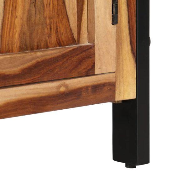 Highboard 100 x 40 x 175 cm Massivholz