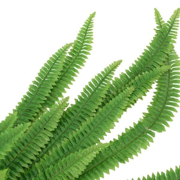 Künstliche Blätter Farnpflanze 2 Stk. Grün 120 cm