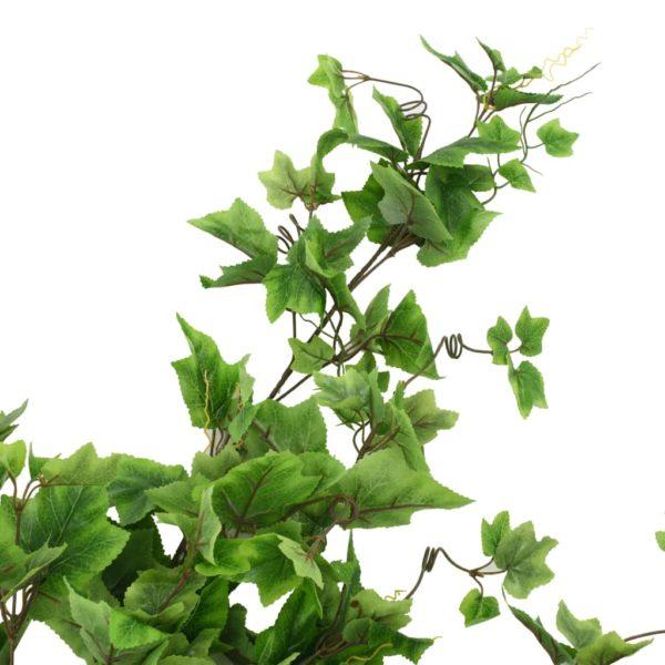 Künstliche Blätter Traube 2 Stk. Grün 90 cm