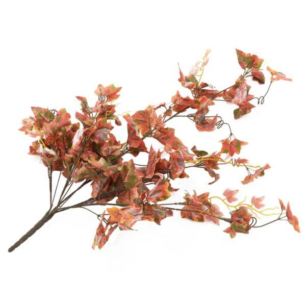 Künstliche Blätter Traube 2 Stk. Rot 90 cm