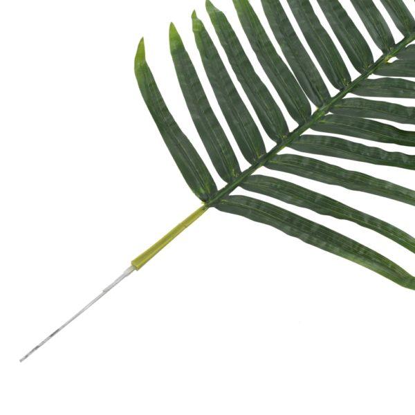 Künstliche Blätter Palme 5 Stk. Grün 95 cm