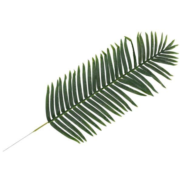 Künstliche Blätter Palme 2 Stk. Grün 140 cm