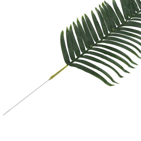 Künstliche Blätter Palme 2 Stk. Grün 160 cm