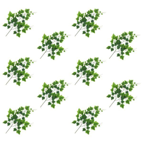Künstliche Blätter Traube 10 Stk. Grün 70 cm