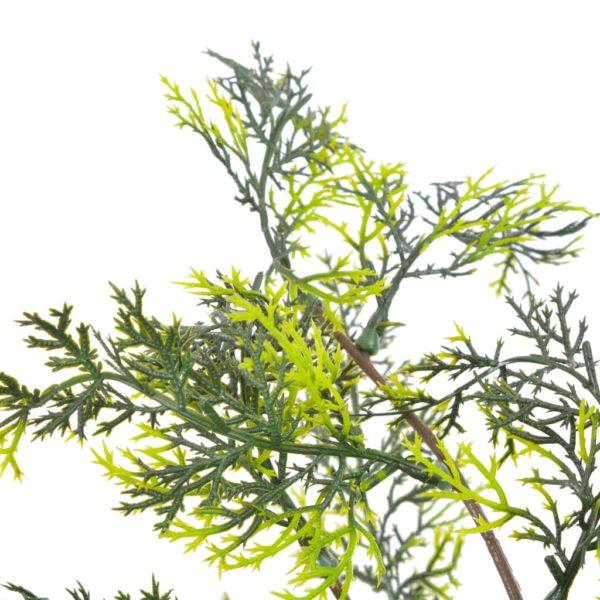 Künstliche Pflanze Zypresse mit Topf Grün 120 cm