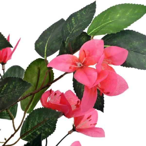 Künstliche Pflanze Rhododendron mit Topf Rosa 165 cm