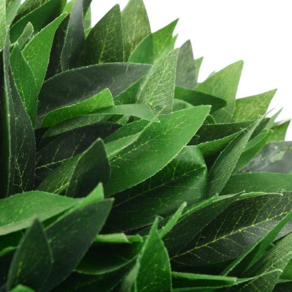 Künstliche Pflanze Lorbeerbaum mit Topf Grün 130 cm
