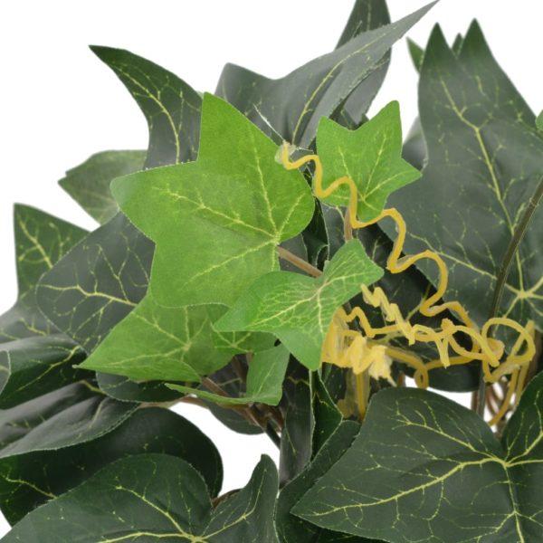 Künstliche Pflanze Efeu mit Topf Grün 45 cm