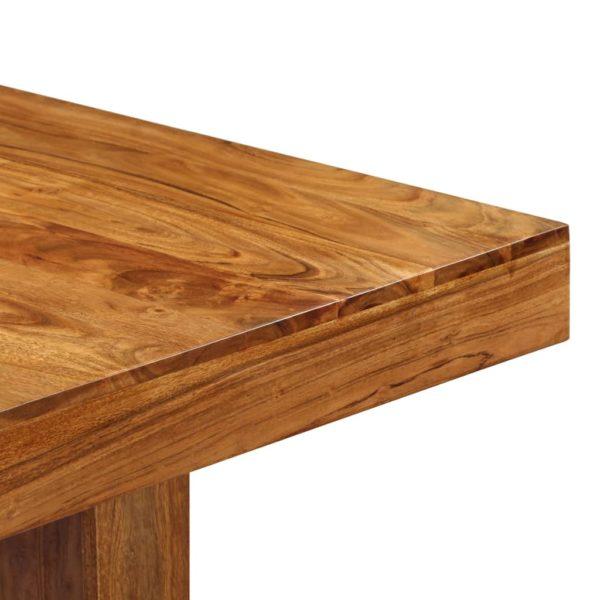 Esstisch 180 x 90 x 75 cm Massivholz Akazie