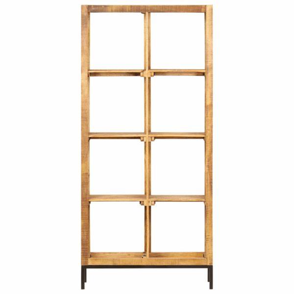 Bücherregal 80 x 25 x 175 cm Mango Massivholz