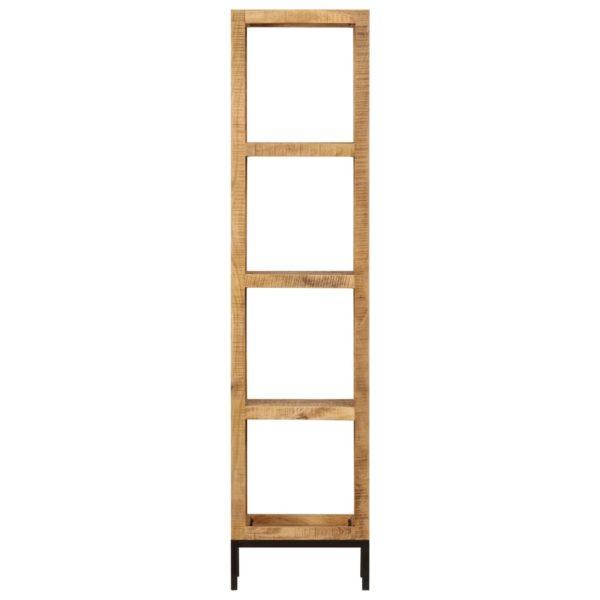 Bücherregal 40 x 30 x 175 cm Mango Massivholz