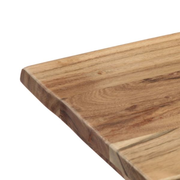 Esstisch 140 x 80 x 76 cm Massivholz Akazie