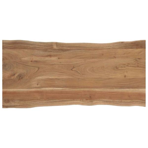 Esstisch 120 x 58 x 76 cm Massivholz Akazie