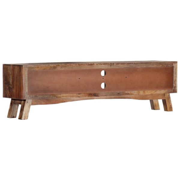 TV-Schrank 140 x 30 x 40 cm Massivholz Mango