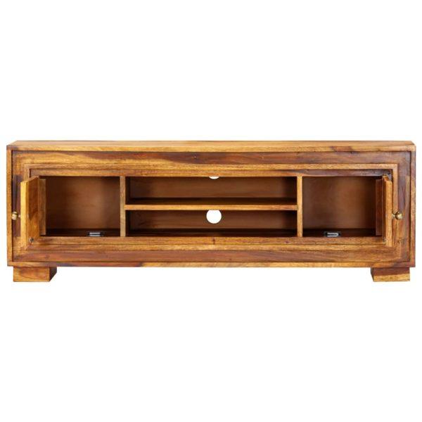 TV-Schrank 118 x 30 x 40 cm Massivholz
