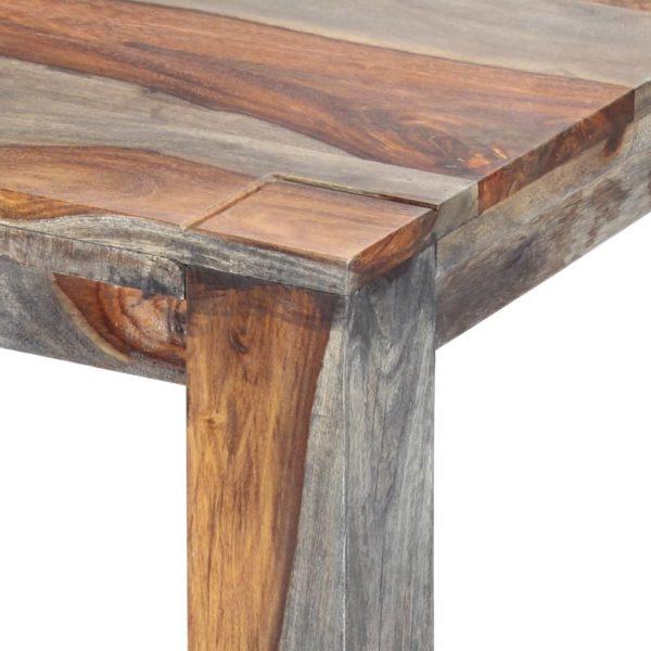 Esstisch Grau 180 x 90 x 76 cm Massivholz