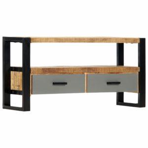 TV-Schrank 100 x 30 x 50 cm Mango-Massivholz