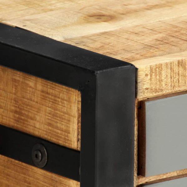 TV-Schrank 120×30×40 cm Massivholz Mango